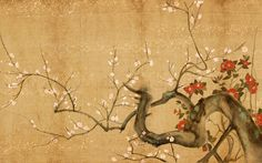 Image detail for -Japanese Flowers Art Wallpaper, Painting Oriental Wallpaper, Chinese Wallpaper, Of Wallpaper, Artistic Wallpaper, Nature Wallpaper, Ancient Japanese Art, Traditional Japanese Art, Japanese Painting, Painting Art