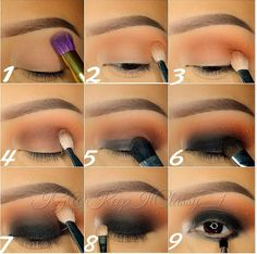 Black and Brown Eyeshadow | Step By Step Tutorial For A Dramatic Look | For More Great Makeup Tips & Advice Visit MakeupTutorials.com.