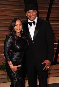 LL and wife Simone Black Celebrity Couples, Black Love Couples, Cute Couples, Power Couples, Beautiful Couple, Black Is Beautiful, Black Celebrities, Celebs, Couple Noir