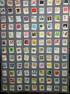 Polaroid Quilt Top
