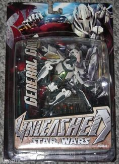 Hasbro-Star-Wars-Unleashed-General-Grievous-figure-NEW-Revenge-of-the-Sith