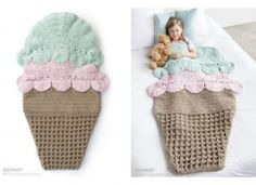 Crochet Double Scoop Snuggle Sack Free Pattern