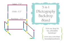 3-in-1 Photography Backdrop Stand Tutorial