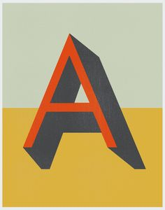 prettyclever:   Vintage Type Posters