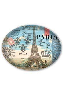 Michel Design Works Glass Soap Dish - Paris We made these graceful dishes specifically to fit our new largesize bath soap bars Each curved piece of translucent lightweight glass is beautifully decorated and hand washable I. Please Click the image for more information.
