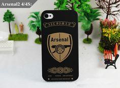 Weltlich bekannte Football Club Logo Handyschale für iPhone 4 4S 5 5S Schutzhüülle Hard Back Case Cover - elespiel.com