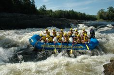 Wilderness Tours is Canada\'s largest whitewater rafting and adventure resort just 1 hour west of Ottawa Adventure Resort, Family Adventure, Ottawa Valley, Ottawa River, Capital Of Canada, Kayaking, Canoeing, Whitewater Rafting, Beautiful Sites