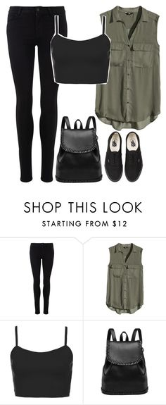 Edge by keisha-xo on Polyvore featuring H&M, Topshop and Vans