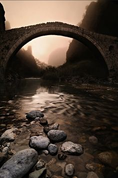 Kokorou Bridge Epirus, Greece