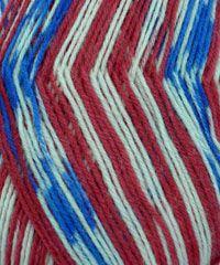 Fortissima Color Sock Yarn - #1776 American Flag Fairisle - Alpaca Direct  Happy 4th of July!