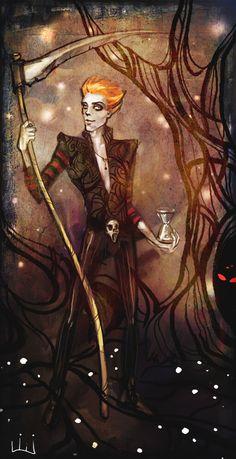 Terry Pratchett: Mort by ~lili-paletskaya