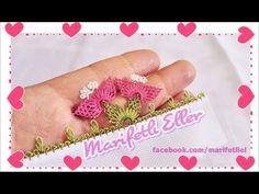 İğne Oyası Badem Çiçeği Anlatımlı Yapılışı - YouTube
