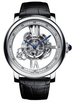 Cartier Rotonde De Cartier Astrotourbillon Skeleton