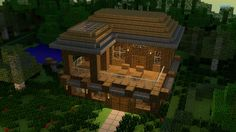 Minecraft House | House in minecraft wallpaper - Game wallpapers - #15310