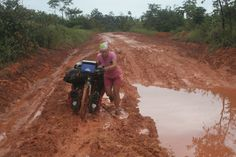The Road to Macapa, bicycle touring in Brazil by worldbiking.info, via Flickr