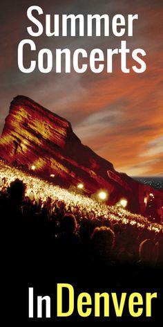 From the iconic Red Rocks stage to the smaller venues featuring the best local talent; Denver boasts a strong Summer of music in 2017!