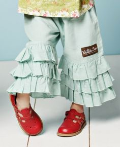 Matilda Jane aquamarine ruffles - must have!