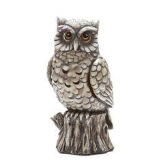 Elegant Expressions by Hosley Owl Incense Cone Burner