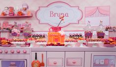 gorgeous baking party set up