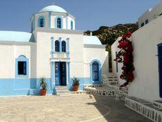 St George, Hadies, #Kasos Karpathos, Cool Photos, Italy, Mansions, Greek Islands, House Styles, Travelling, Greece, Destinations