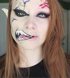 Best Halloween 2014 Makeup for Girls Pictures, Images, Photos, HD Wallpapers