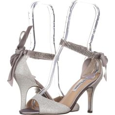 aae9882d682 Nina Vinnie Ankle-Strap Evening Sandals 473