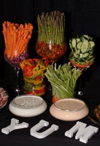 such a cute and different idea then the same old veggie platter
