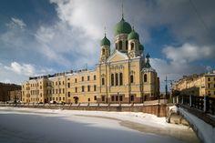 Winter in St.Petersburg.