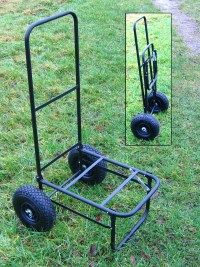 Are you fed up with hauling all your fishing kit by hand then this fishing tackle trolley can make life a whole lot easier.