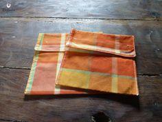 Lot de 2 pochettes pour sandwich, en-cas, goûter, couleur estivale : Autres sacs par le-royaume-de-physalis