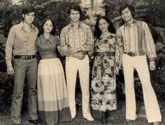 LIFE EVERLASTING with Ricky Belmonte, Rosemarie Sonora, Pepito Rodriguez, Marifi, and Rudy Fernandez. Filipino Culture, Filipiniana, Manila Philippines, Old Photos, 1940s, Actors & Actresses, Pop Culture, Roots, Beer