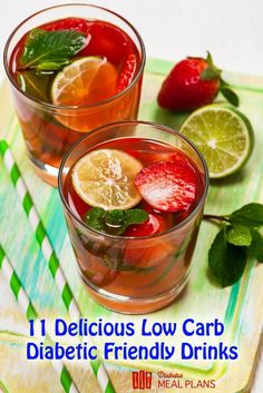 Low carb healthy diabetic drinks