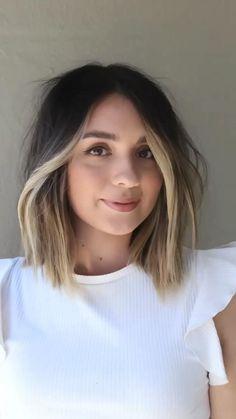 Hair Color And Cut, Haircut And Color, Short Hair Colors, Medium Hair Styles, Short Hair Styles, Hair Affair, Balayage Hair, Bayalage, Pretty Hairstyles