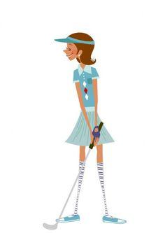Playing #golf like a #lady at #RivieraonVaal