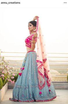 Ropa Tutorial and Ideas Pakistani Dresses, Indian Dresses, Indian Outfits, Indian Party Wear, Indian Wear, Sharara, Anarkali, Saree, Lehenga Style