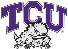 TCU Horned Frogs athletic logo 🌑Fosterginger.Pinterest.Com🌑More Pins Like This One At FOSTERGINGER @ PINTEREST 🌑No Pin Limits🌑でこのようなピンがいっぱいになる🌑ピンの限界🌑