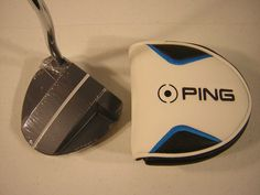 Ping Golf Vault Bergen Slate Putter 35 Inches Precision Milled Ping Pistol Grip