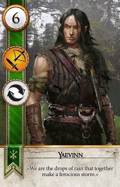 Yaevinn (Gwent Card) - The Witcher 3: Wild Hunt