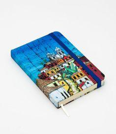 Caderno Casario Colonial, para desenho e anotações, sem pauta.