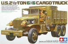 Tamiya 35218 EE.UU. 2,5 ton 6x6 Cargo Truck Kit 1/35 Escala picclick.com