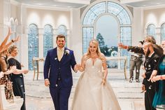 "Sam & John had a beautiful ceremony at Disney's Wedding Pavilion. Sam's favorite memory of her Disney wedding day was when John declared, ""I do!"" waaaaaay before he needed to!"