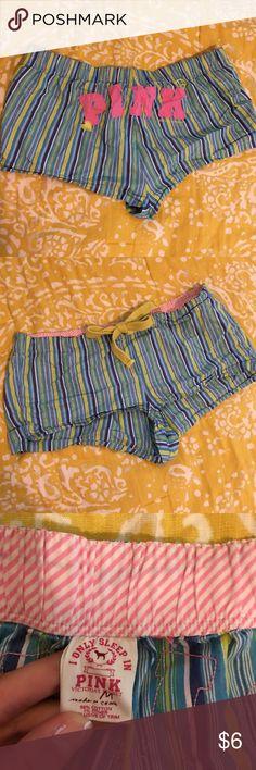VS PINK Boxer Sleep Shorts Size M. Pre-loved with lots of life left. Boxer sleep Shorts. PINK Victoria's Secret Intimates & Sleepwear Pajamas