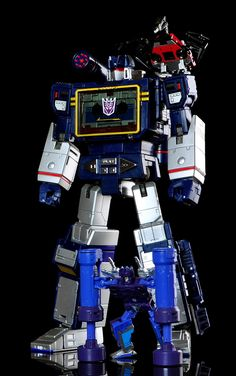 Transformers Masterpiece MP-13 Soundwave and Condor (Laserbeak), MP-15 Rumble and MP-16 Frenzy
