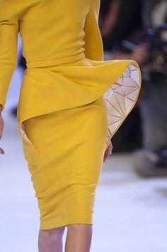 Défile Stéphane Rolland Haute couture Printemps-été 2014 - Détail 16