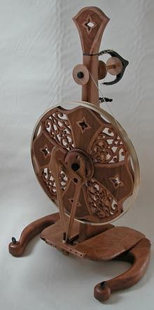 Golding spinning wheel.  I want this to be my next wheel.  OMG