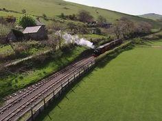 The spectacular Fathew Valley. Take a steam train ride through Snowdonia on the Talyllyn Railway