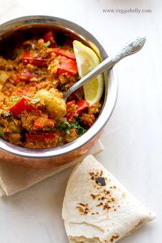 Champignons Tikka Masala - Découvrez la vraie cuisine indienne en voyageant avec Inde en liberté