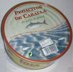 PEDACITOS DE CABALLA  EN GIRASOL RO-1000 marca LOLA