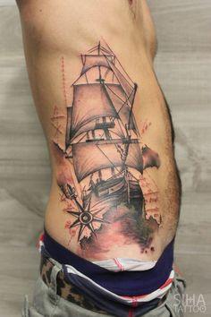 sail boat tatoo - Google Search
