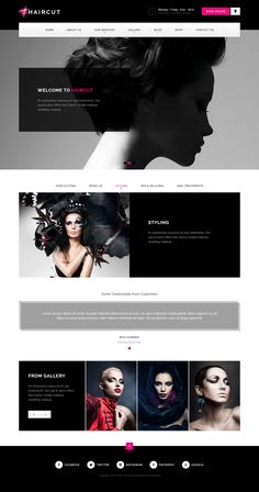 HAIRCUT is a unique and creative wordpress theme with clean and modern design. It is perfect choice for your barbershop, manicure, spa, treatment and beauty websites. It can be customized easily to suit your wishes.